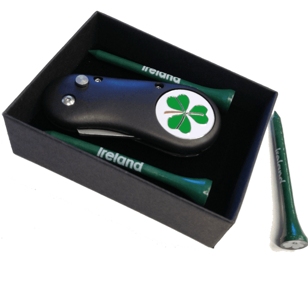 Irish Divot Tool and Tee Set - Golf Gifts UK - Golf wrapped up
