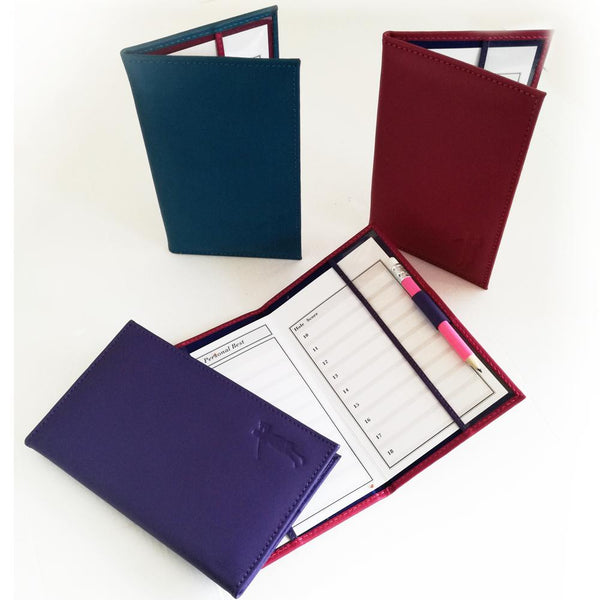 Leather Scorecard Holder - Golf Gifts UK - Golf wrapped up
