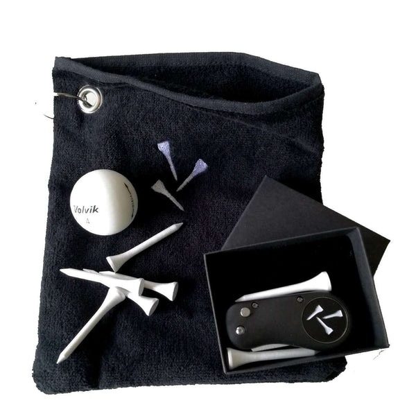 Pouch Towel Gift Set - Golf Gifts UK - Golf wrapped up