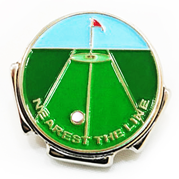Nearest the Line Visor Clip - Golf Gifts UK - Golf wrapped up