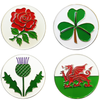 National Emblem Ball Markers - Golf Gifts UK - Golf wrapped up