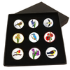 The Nature Lover's Ball Marker Gift Set - Golf Gifts UK - Golf wrapped up