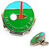 Nearest the Pin Visor Clip - Golf Gifts UK - Golf wrapped up