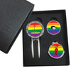 Rainbow Ball Marker Gift Box - Golf Gifts UK - Golf wrapped up