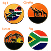 South Africa Ball Markers - Golf Gifts UK - Golf wrapped up