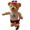 Scottish Golfing Teddy Bear + FREE VISOR CLIP AND BALLMARKER - Golf Gifts UK - Golf wrapped up