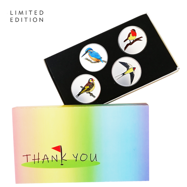 Thank You Gift Sleeves - LIMITED EDITION - Golf Gifts UK - Golf wrapped up