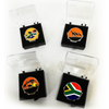 South Africa Ball Marker and Visor Clip - Golf Gifts UK - Golf wrapped up