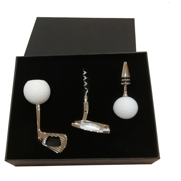 Wine Lover's Golfing Gift Set - Golf Gifts UK - Golf wrapped up