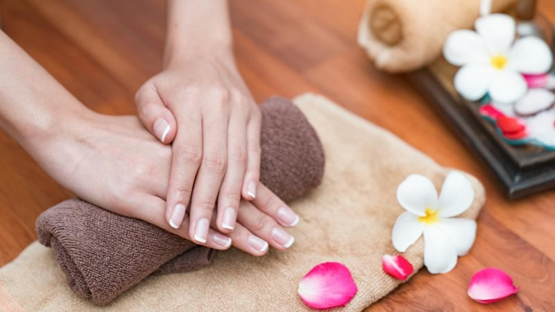 Healthy and beautiful nails and skin