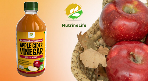 Nutrinelife apple cider vinegar with mother
