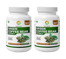 NutrineLife Pure Green Coffee Beans Extract Capsules for Weight Loss Men and Women - 60 Capsules - Nutrinelife