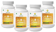 NutrineLife Vitamin C Ascorbic Acid, 500 Mg, 120 Tablets - Nutrinelife