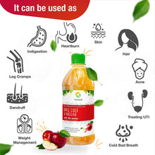 Nutrinelife Apple Cider Vinegar for weight Management ACV 500 ml with Mother, Raw Unfiltered Unpasteurized Apple Cider Vinegar for weight Management, hair Growth Face, Beauty, Health Small Bottle for Men and Women