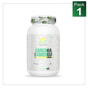 NutrineLife Pure Garcinia Cambogia capsules for weight loss with 60% HCA - 90 Capsules