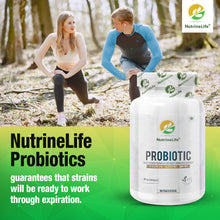 NutrineLife probiotic For Women & Men With Multi Strain Formula