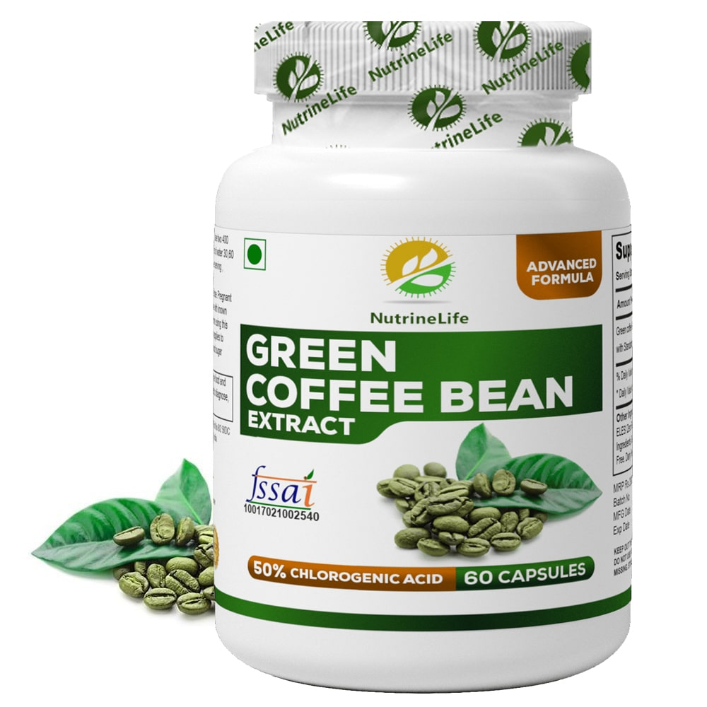 Buy Pure Green Coffee Beans Extract Capsules: Lose Fat ...