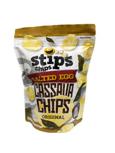Stip's Chips Salted Egg Cassava Chips Original 60g