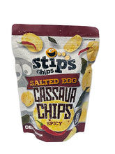 Stip's Chips Salted Egg Cassava Chips Spicy 60g