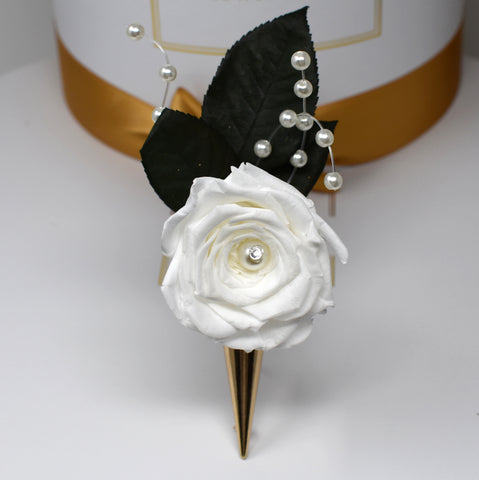 X Bridal Boutonniere Collection