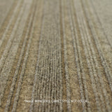 Close up straight view of 24x24 Peel and Stick Indoor Outdoor Carpet Tile 75DM Couture