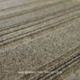 Close up Angle view of 24x24 Peel and Stick Indoor Outdoor Carpet Tile 75DM Couture