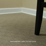 24x24 Peel and Stick Indoor Outdoor Carpet Tile 7CDM Crochet installed in home