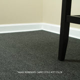 24x24 Peel and Stick Indoor Outdoor Carpet Tile 7RDM Ridgeline Ribbed installed in office