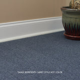 24x24 Peel and Stick Indoor Outdoor Carpet Tile 7RDM Ridgeline Ribbed installed in bedroom