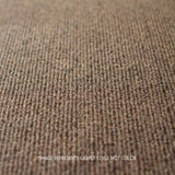Close up Angle view of 24x24 Peel and Stick Indoor Outdoor Carpet Tile 7RDM Ridgeline Ribbed