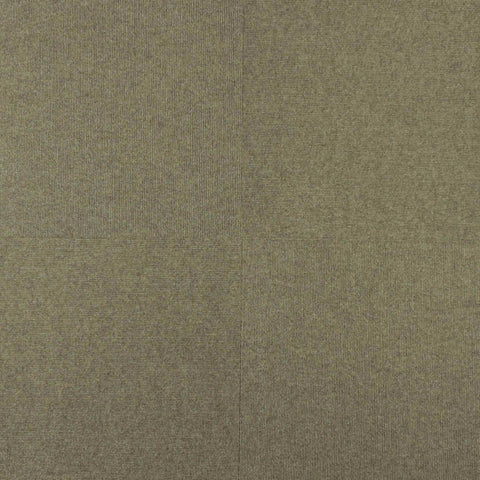 18x18 Peel and Stick Ribbed Indoor Outdoor Carpet Tile 7RD9 Roanoke N40 Taupe
