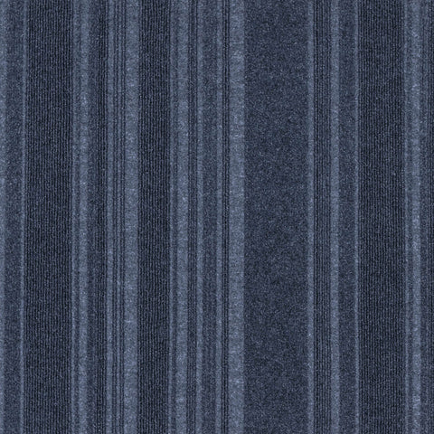 24x24 Peel and Stick Indoor Outdoor Carpet Tile 75DM Couture N55 Ocean Blue