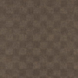 24x24 Peel and Stick Indoor Outdoor Carpet Tile 7CDM Crochet N29 Chestnut