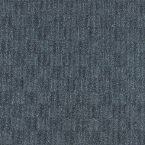 24x24 Peel and Stick Indoor Outdoor Carpet Tile 7CDM Crochet N55 Ocean Blue