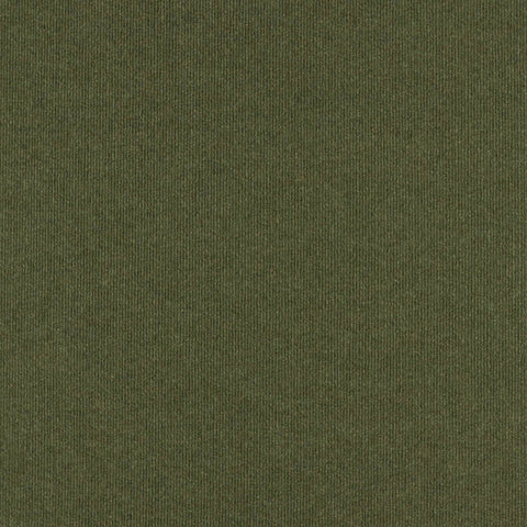 24x24 Peel and Stick Ribbed Indoor Outdoor Carpet Tile 7RDM Ridgeline N39 Olive