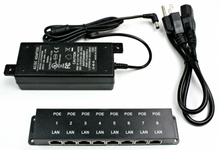 POE-8-ENC PoE Injector with Power Supply