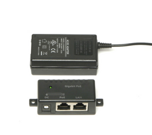 GPOE-2-WM 2 port Gigabit PoE injector with power supply
