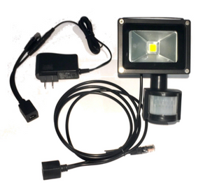 PL-PoE-FLOOD-8w outdoor PoE Floodlight with 802.3af pass-thru