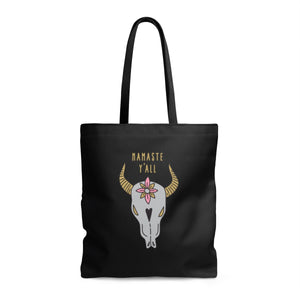 Namaste Y'all Tote Bag