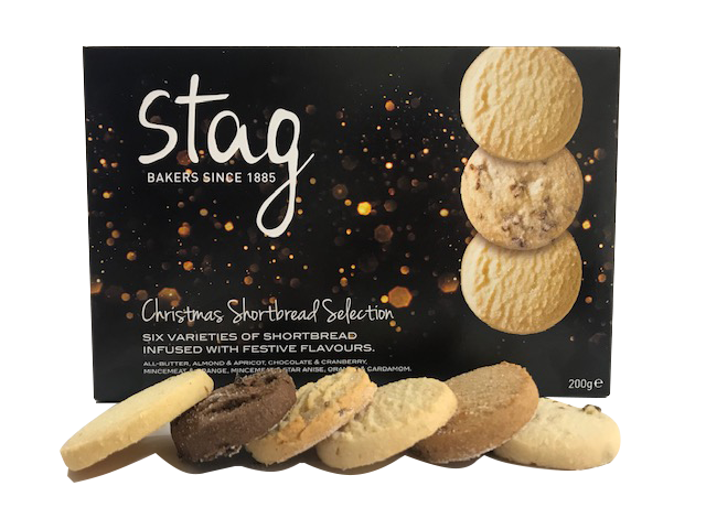 Christmas Shortbread Selection