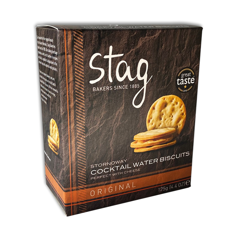 Stornoway Cocktail Original Water Biscuits