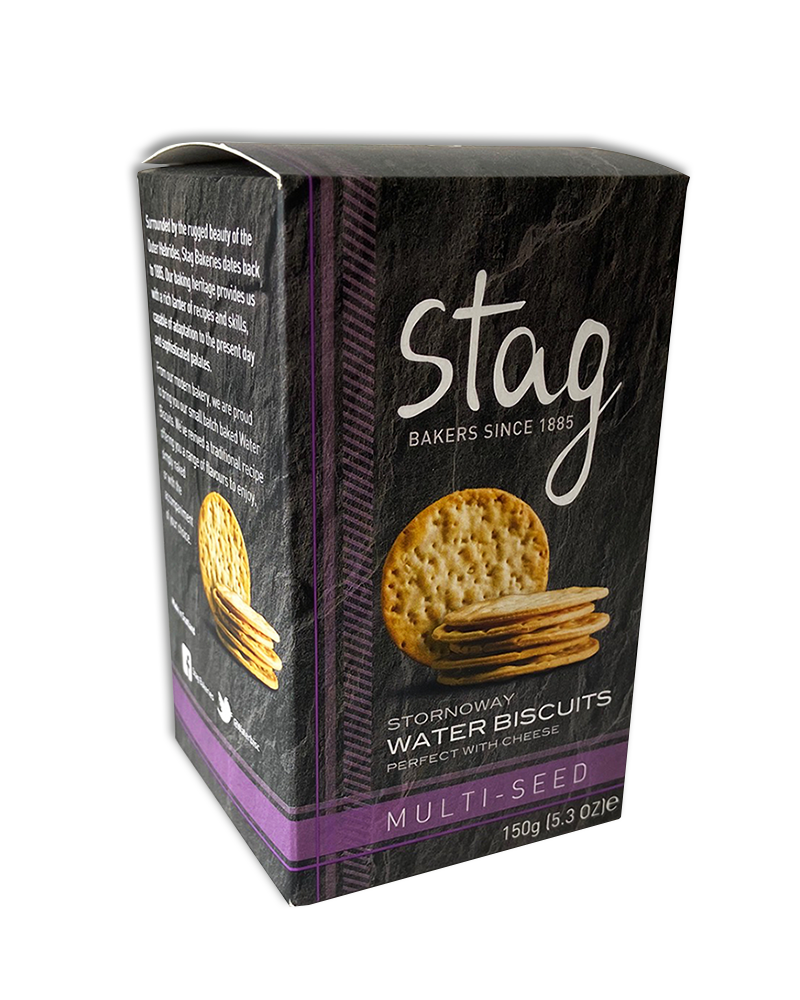 Stornoway Multi-Seed Water Biscuits