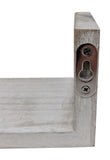 Gianna's Home Set of 3 Rustic Farmhouse Distressed Country Floating Shelves (U-Shaped)