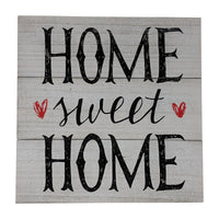 Gianna's Home Rustic Farmhouse Distressed Wood Plank Board Sign (Home Sweet Home) - Gianna's Home