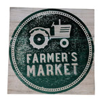 Gianna's Home Rustic Farmhouse Distressed Wood Plank Board Sign (Farmer's Market) - Gianna's Home