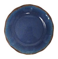 Gianna's Home 12 Piece Rustic Farmhouse Melamine Dinnerware Set (Blue) - Gianna's Home