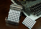 5-Pc.Typewriter Coaster Set - Gianna's Home