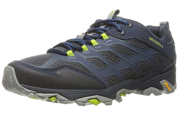 Merrell Men's Moab FST Hiking Shoe Navy - Gianna's Home