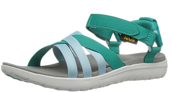 Teva Women's Sanborn Sandal, Teal - Gianna's Home