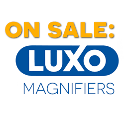 Where can you find big savings on Luxo KFM Magnifiers?